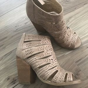 NWOT Not Rated Wedges from Francesca's
